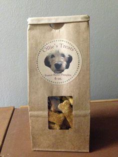 Homemade Dog Treats by TONIandOLLIE on Etsy, $5.00