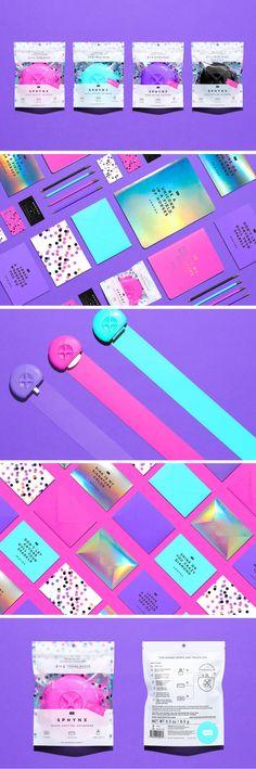 Sphynx 3-in-1 travel razor packaging by Anagrama Studio