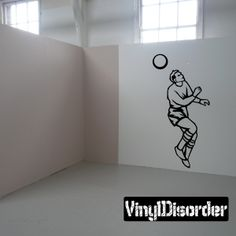 Soccer Wall Decal - Vinyl Decal - Car Decal - DC 002