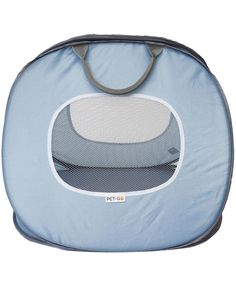 PET-TOGO Ultra-Light Pet Carrier, Soft Sided And Foldable Travel Carrier With Front And Top Openings, For Cats And Small Dogs, Blue And White, Large Size * You can get more details here : Cat carrier
