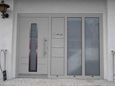 Aluminium Hausture In Holzoptik Hausture Pinterest