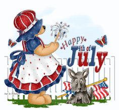 july 4th clipart vintage