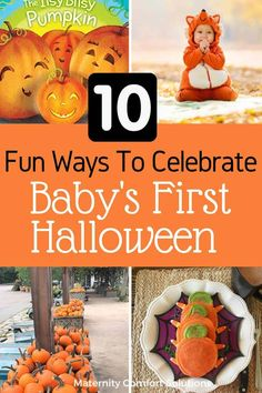 Baby's First Halloween tips and ideas to make the holiday special and stress-free for you and your baby! Halloween Tips, First Halloween Costumes, Halloween Pajamas, Baby First Halloween, Pregnant Halloween, Halloween Pictures, Babies First Christmas, Baby Nursery Diy, Nursery Twins