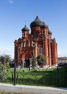Uspenskiy Cathedral of the Tula Kremlin. Tula, Russia