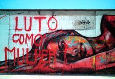 Grafiteiras: a mulher representada na arte de rua