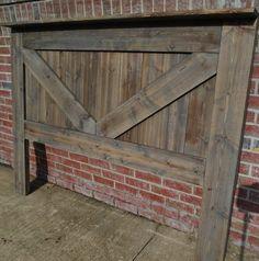Barn Door Headboard Good Diy Headboard With Barn Door