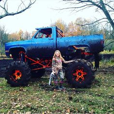 Mud and trucks...oh yeah!! That's how us Southern Country Girls roll! =)