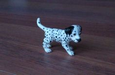 customized Dalmatian puppy model dog figurine repainted traditinal size as a companion for modelhorses dogs - anja-franke-artworkss Webseite!