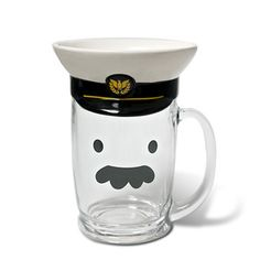hahahaha Ana, this is for Rupert to drink his beer out of.  Pilot Beer Mug Set, $24, now featured on Fab.
