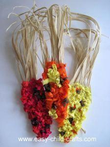 tissue paper indian corn