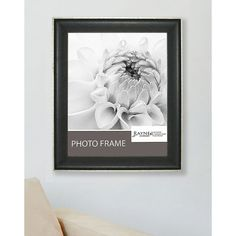American Made Rayne Vintage Black Picture Frame (Vintage Black/Silver, Picture Size: 30 x 40), Size 30x40 (Glass)
