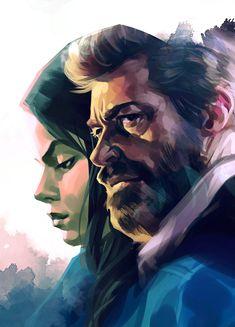 Logan by Grobi-Grafik on DeviantArt Comic Books Art, Comic Art, Book Art, Deadpool Fan Art, Logan Wolverine, Ghost Busters, Superhero Movies, Marvel Art, Hero Arts
