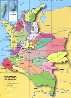 Colombia's map