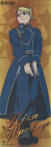 Fullmetal Alchemist plastic poster official Japan Riza Hawkeye