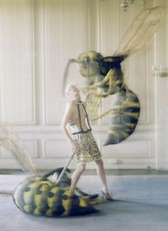 Eerie Insect Editorials : Love Magazine Spring 2012