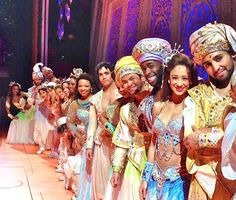 The amazingly talented Aladdin cast