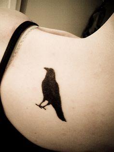 ... Raven Tattoo on Pinterest | Raven Tattoo Crow Tattoos and Celtic