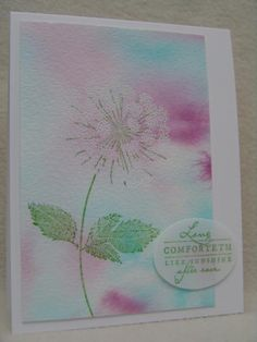 IC489 Queen Anne's Lace by suen - Cards and Paper Crafts at Splitcoaststampers