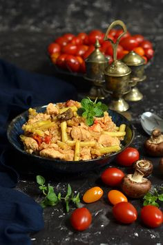 kaszotto z kurczakiem Baked Potato, Meal Planning, Recipies, Food And Drink, Cheese, Meals, Dinner, Cooking, Ethnic Recipes