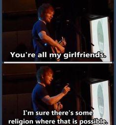 Aha xx..... WAIT ED IS MY BOYFRIEND?! Amen THANK THE LORD