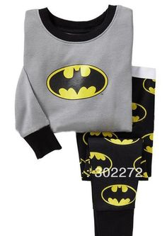 Aliexpress.com : Buy Hot New style Batman baby pajamas kids jumpsuits body suit kids sleepwear baby boy/girl pyjamas, 6sets/lot from Reliab...