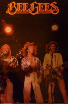 1978 Rare Vintage the Bee Gees music bands poster in perfect condition from distributors prints paper rare music memorabilia rock disco