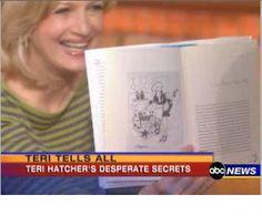 Diane Sawyer with my illustrations