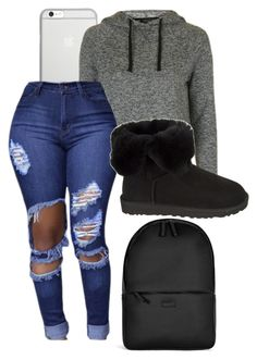 """""""Bless"""" by dancer4life-325 ❤ liked on Polyvore featuring Native Union, Topshop, UGG Australia and Rains"""
