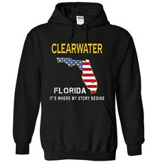 CLEARWATER It's Where My Story Begins cwelf T-Shirts, Hoodies. ADD TO CART ==►…