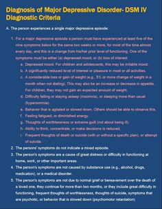 Diagnosis of Major Depressive Disorder - DSM IV Criteria - E-Book ~ Free Medical PowerPoint Templates, Medical Ebooks, Medical PowerPoints Download