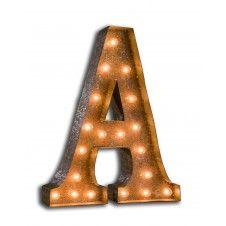 Letter Lights A-Z