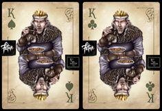 ToT Card Game GOOD KING by FranciscoETCHART