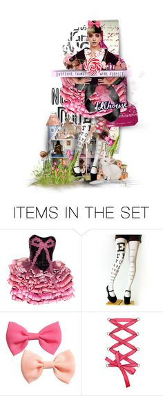 """""""Hey girl, open the walls. Play with your dolls. We'll be a perfect family"""" by babyface-harve ❤ liked on Polyvore featuring art, dollhouse, babyface, Melanie and martinez"""