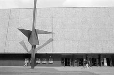 """chrisjohndewitt: """"Deutsche Oper Berlin Bismarkstrasse in March 1985. That month a new production of Wagner's opera Seigfried premiered. In April 2001, the Italian conductor Giuseppe Sinopoli died at the podium while conducting Verdi's Aida, at age..."""