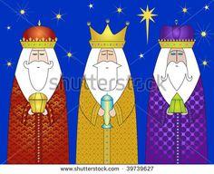3 wisemen christmas clipart - Google Search