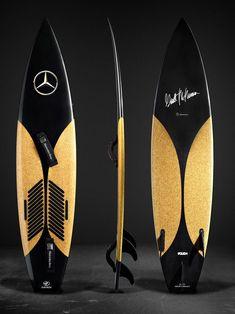 Mercedes-Benz Presenta Lujosas Tablas de Surf Exclusivas Para Garrett McNamara