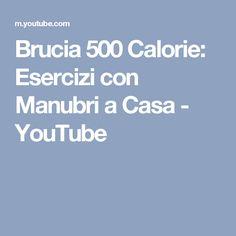 Brucia 500 Calorie: Esercizi con Manubri a Casa - YouTube