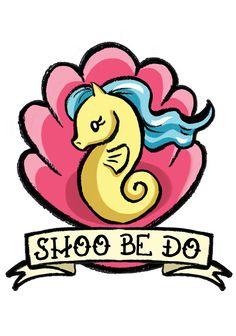Sea Pony My Little Pony Art Print by daisychurch on Etsy, $5.00