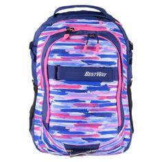 377aa73dc208c Bestway Schulrucksack Mädchen Jungs marineblau pink Schultasche Daypack