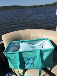 Large utility tote - perfect for a day on the boat! Thirty One Party, Thirty One Gifts, Blue Party Foods, Thirty One Uses, Tote Pattern, Purse Patterns, Hot Dog Bar, Thirty One Business, Large Utility Tote