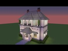 Minecraft - How to build a great mansion Villa Minecraft, Minecraft Mods, Architecture Minecraft, Minecraft House Plans, Modern Minecraft Houses, Minecraft Mansion, Minecraft House Tutorials, Minecraft Houses Blueprints, Amazing Minecraft