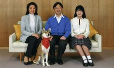 royalwatcher:  New Photos of the Japanese Crown Princely Family for Crown Prince Naruhito's birthday-Crown Princess Masako, Crown Prince Naruhito, Princess Aiko