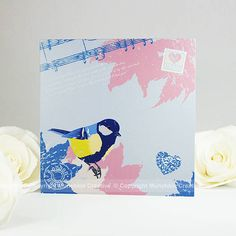 Vintage Bird Greeting Card