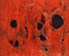 Rosso Plastica - 1962 - Alberto Burri