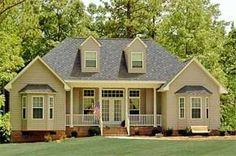 Single story homes single storey kerala home design at 2000 home designs pinterest - Casas de madera y mas com ...