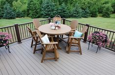 Berlin Gardens Garden Classic Round Poly Bar Height Patio Table Enjoy the fresh air and a family meal when sitting at your Eco friendly dining area. Outdoor Dining Furniture, Outdoor Dining Set, Outdoor Entertaining, Outdoor Decor, Dining Area, Western Furniture, Amish Furniture, Rustic Furniture, 60 Inch Round Table