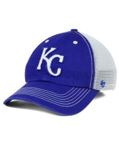 '47 Brand Kansas City Royals Taylor Closer Cap - Blue L/XL