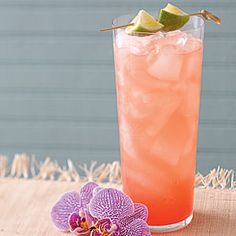 Royal Orchid {(intrigued by this St. Germain liqueur}