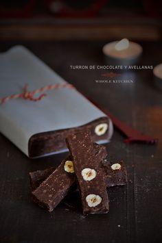Receta de turrón casero de chocolate y avellanas Choco Chocolate, Chocolate Hazelnut, Chocolate Desserts, Christmas Pudding, Christmas Baking, Hispanic Desserts, Delicious Desserts, Dessert Recipes, Homemade Sweets