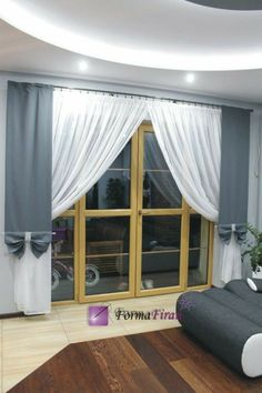 Curtain Patterns, Curtain Designs, Drapery, Curtains, Window Treatments, My House, Condo, New Homes, Diy Projects